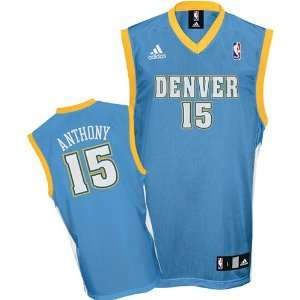 Anthony adidas NBA Kids 4 7 2009 2010 Replica Denver Nuggets Jersey