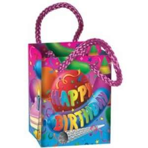 Happy Birthday Mini Gift Bag Party Favors (Pack of 12)