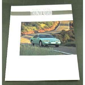 1994 94 Ford THUNDERBIRD T Bird BROCHURE LX Super Coupe
