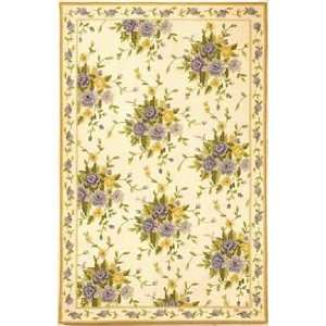 Chelsea HK284A Ivory and Blue Country 6 x 9 Area Rug
