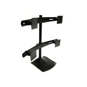 TWO PARAVIEW BOWS FOUR SLIDING BRACKETS DS100 Quad Monitor Desk Stand