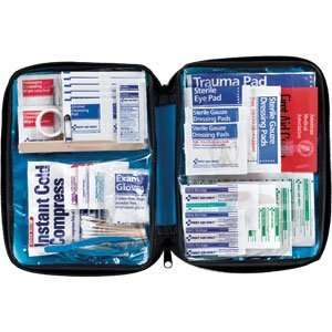 Piece Large All Purpose First Aid Kit, Softpack Case