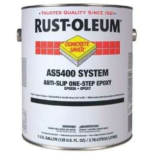 RUST OLEUM AS5444402 Floor Coating,1 gal,Safety Yellow