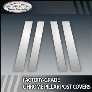 08 12 Honda Accord 4Pc Chrome Pillar Post Covers