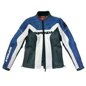 Spidi Womens PSK Leather Jacket   42/Blue/Black/White