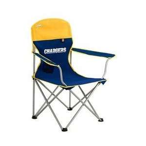 San Diego Chargers NFL Deluxe Folding Arm Chair by