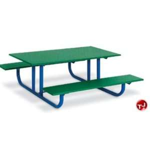 Play Today, Outdoor 48 Heavy Duty Preschool Picnic Bench Table