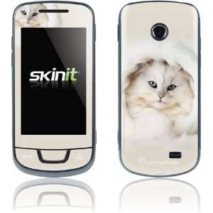 White Persian Cat skin for Samsung T528G Electronics