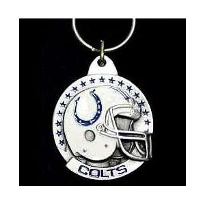 NFL Team Helmet Key Ring   Indianapolis Colts Everything