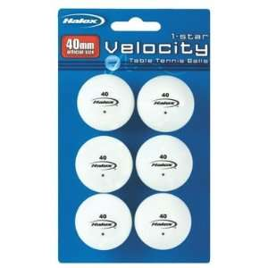 Ping Pong Ball White 6 Count East (Pack of 3) Sports