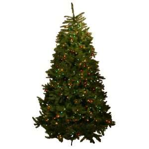 Good Tidings Cape May Fir Artificial Prelit Christmas Tree 7 1/2 Feet