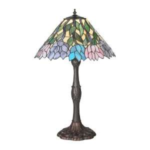 Tiffany Tiffany Floral Art Glass Table Lamp  20173