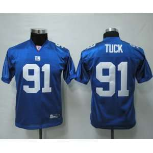 New York Giants Justin Tuck Home jersey size 56 3XL