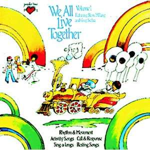 5 Pack CREATIVE TEACHING PRESS WE ALL LIVE TOGETHER VOLUME 1 CD