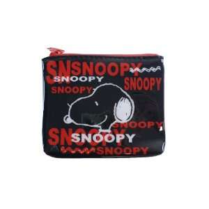Black Plastic Coin Purse With White and Red Lettering Toys & Games