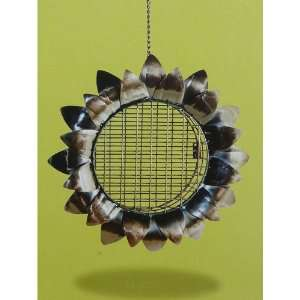 Sunflower Design Suet Bird Feeder Patio, Lawn & Garden