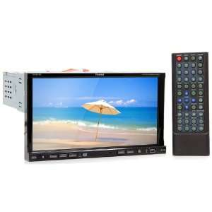 Touch Screen 1 DIN Oversized Fully Motorized TFT Monitor/DVD/AM