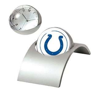 Indianapolis Colts NFL Spinning Desk Clock