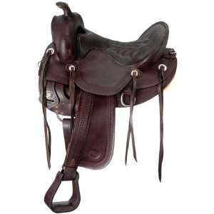 Old Time Trail Rider Round Skirt Saddle