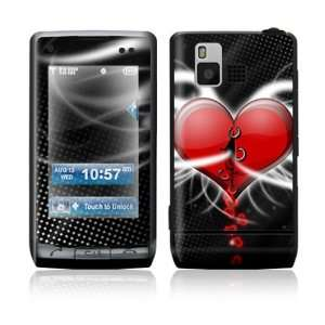 LG Dare VX9700 Skin Sticker Decal Cover   Devil Heart