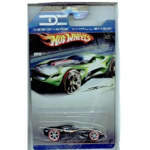 Hot Wheels Designers Challenge HW40 BLACK w/Red Line Tires