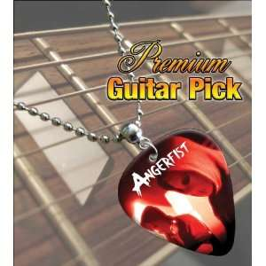 Angerfist Premium Guitar Pick Necklace Musical