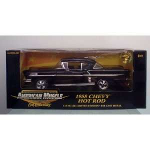 American Muscle 1958 Chevy Hot Rod Diecast 118  Toys & Games