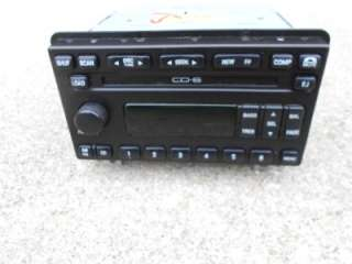 FORD MUSTANG EXPLORER MOUNTAINEER 6 DISC CD PLAYER AM FM RADIO