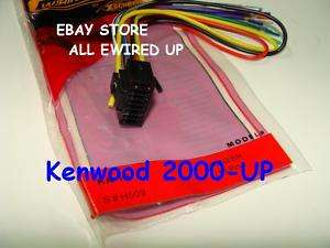 Kenwood Wiring Wire Radio Stereo Harness 2000 UP 16PIN