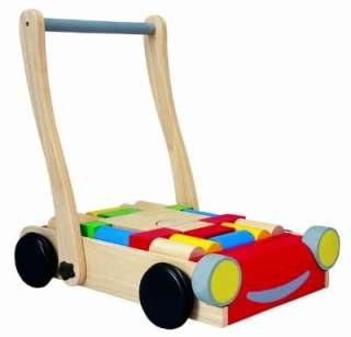 Plan Toy Learning Walker Baby Walker Development Gear Educational Toy