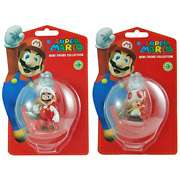 Super Mario Mini Figure Bundle Series 3, Mario and Toad Super Mario