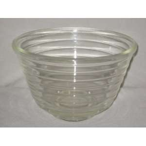 inch   GE Beehive Glass Mixer Batter Mixing Bowl