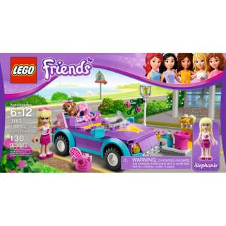 LEGO Friends Stephanies Cool Convertible Building