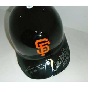 Willie Mays & Willie McCovey San Francisco Giants Signed Autographed