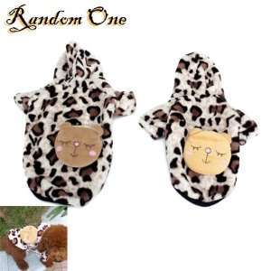 Pet Dog Hoodie Hooded Winter Coat Warm Apparel Clothes Size L Pet
