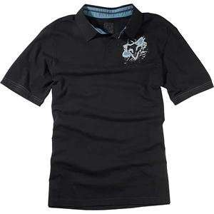 Fox Racing Torn Polo   Medium/Black Automotive