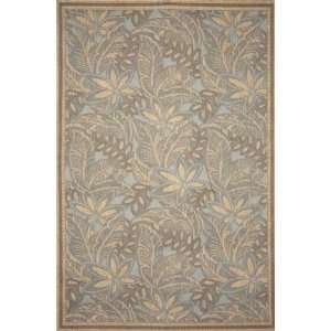Tommy Bahama Thatcher Decker Turquoise Rectangle 7.80 x 9.90 Area Rug