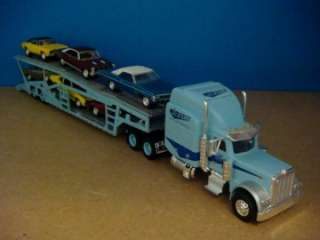 Peterbilt Semi with Auto Transport Trailer 1/64 Scale Ltd Edt 14